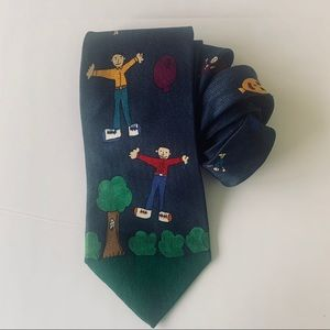 Celeb Tie - designed by Jerry Seinfeld . EUC